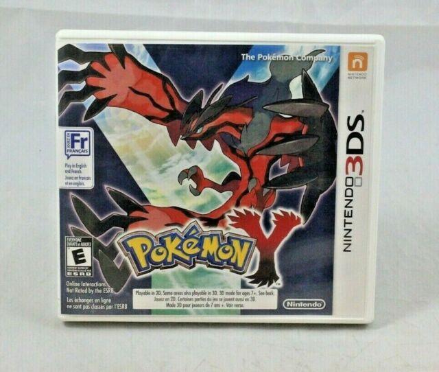 Pokemon Y (Nintendo 3DS, 2013) Complete in Box
