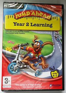 JUMP-AHEAD-YEAR-2-LEARNING-PC-MAC-CD-ROM-AGES-6-7-50-SKILLS-brand-new-amp-sealed