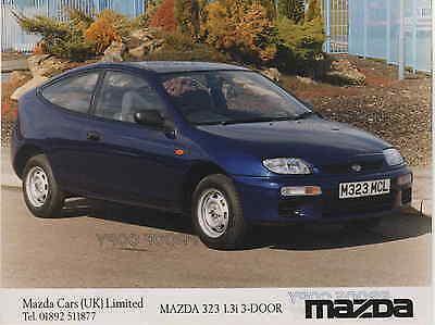 MAZDA 323F /& MAZDA 323 PRESS PHOTOS   ** POST FREE UK**