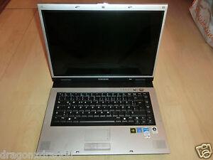 Samsung-NP-R55-Clayton-15-4-034-Notebook-ohne-HDD-Display-gesprungen-LESEN