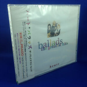 HEART-Ballads-The-Greatest-Hits-ULTRA-RARE-OOP-1996-JAPAN-ONLY-CD-TOCP-8945