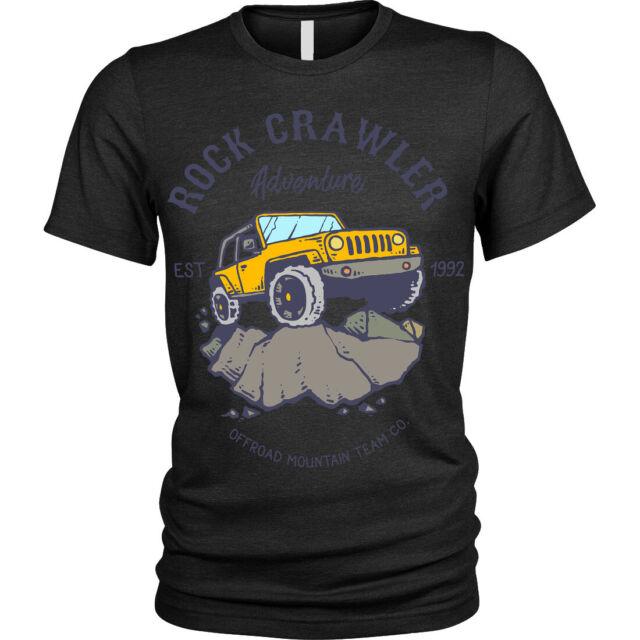 Rock Crawler adventure T-Shirt offroad mountain adventure Unisex Mens