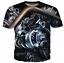New Fashion Women//Men Engine gear 3D Print Casual T-Shirt F27