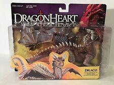 Vintage Dragonheart Draco Dragon Figure Power Flap Wings Hasbro 1995 MOC