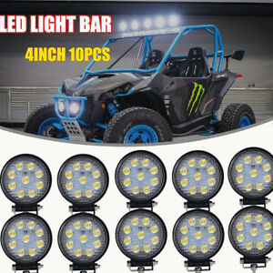"4"" Roof Led Light Bar  Fog Light Powder Coated for Can Am Maverick Commander"