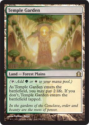 Temple Garden FOIL x1 Magic the Gathering 1x Return to Ravnica mtg card