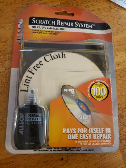 Allsop Disc Scratch Repair + Cleaning System Xbox ...