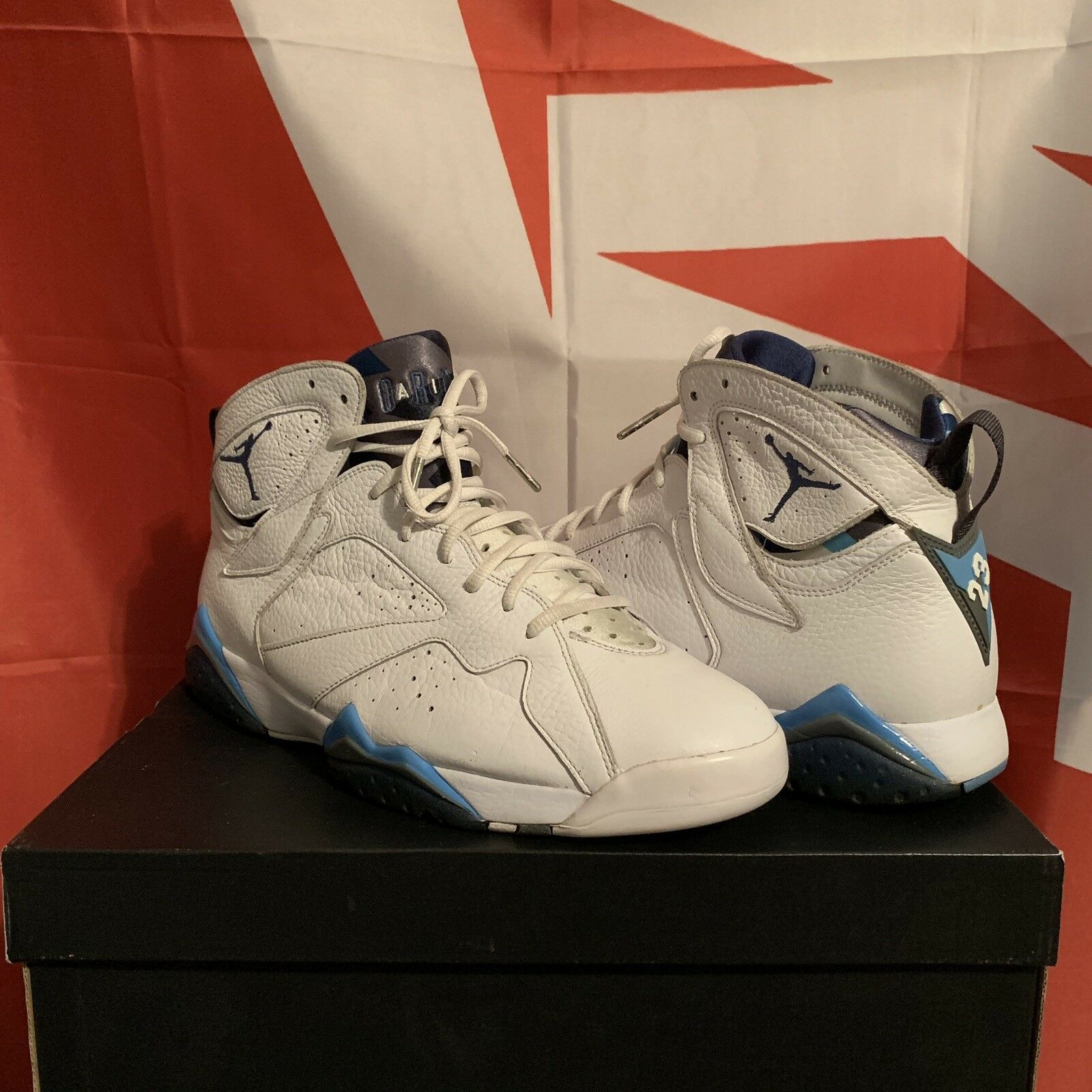 Air Jordan Retro 7 French bluee