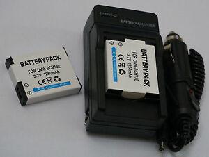 Battery-Charger-For-Panasonic-Lumix-DMC-TZ41-DMC-TZ57-DMC-TZ60-DMC-TZ70-Camera