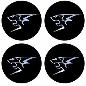 4-stickers-PEUGEOT-sport-noir-chrome-40-a-100-MM-centre-de-jantes-GTI-RC