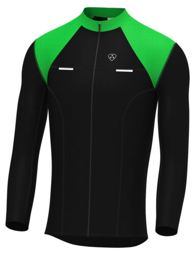 DHERA Mens Thermodream Cycling Jersey Full Sleeve Thermal Roubaix Cycling Jacket