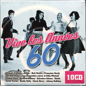 VIVE-LES-ANNEES-60-10-CD-COMPILATION-NEUF-ET-SOUS-CELLO
