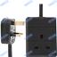 UK-Mains-Extension-Lead-Cables-1-2-3-4-6-8-10-Gang-50cm-20m-Plug-Black-White thumbnail 3