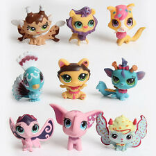 20 PCS Littlest Pet Shop Cute Cat Dog Animals Figures Lot Random Style Toys New