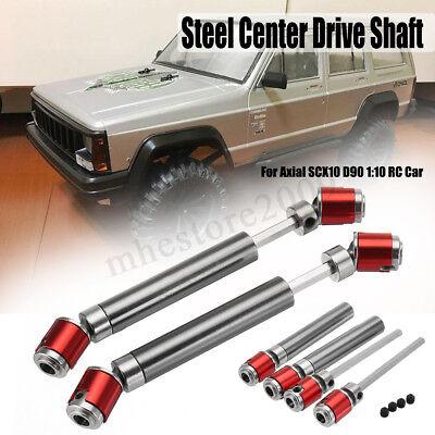 2 Pcs Aluminum 1//10 Drive Shaft for Axial D90 RC4WD Dingo SCX10 Wraith Crawler