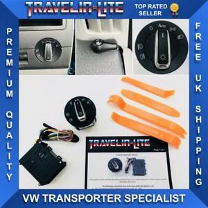 Para-VW-T5-T5-1-Transporter-Faros-de-actualizacion-del-modulo-de-conmutacion-automatico-amp-03-15