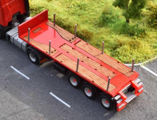 1:87 110 superficie di carico costruzione KIT F Herpa 20ft chassis per Rimodellamento autocostruzione NUOVO