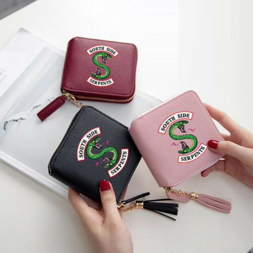 Riverdale  Wallet Frauen Clutch Geldbörse Beliebte Zipper-Karte Taschen Serpents