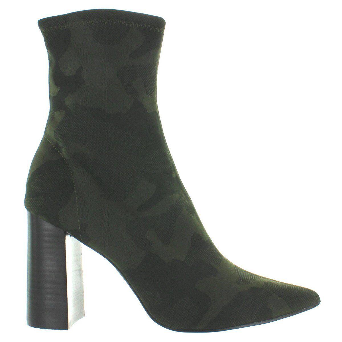Jeffrey Campbell Siren - Khaki Black Camo Neoprene Boot