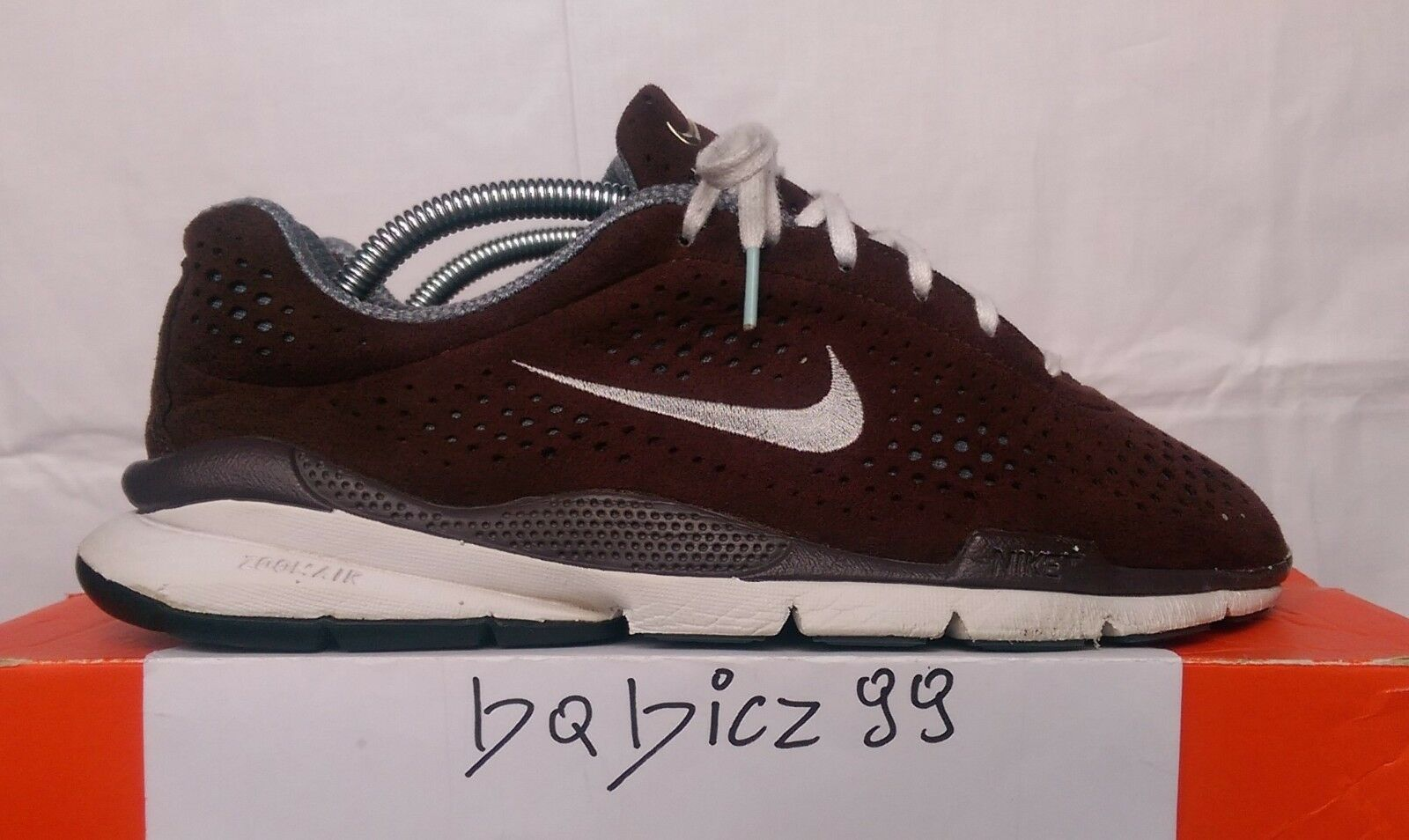 WMNS NIKE AIR ZOOM moiré + Chocolate 2006 9us/40, 5eur RARE