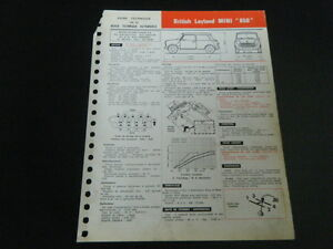 FICHE-TECHNIQUE-AUTOMOBILE-RTA-BRITISH-LEYLAND-MINI-850-support4