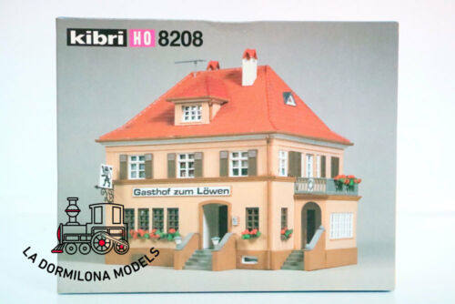 KIBRI 8208 H0 EDIFICIO NUEVA CASA TABERNA Gasthof zum Löwen Wirtshaus