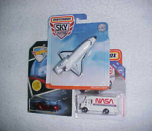 HW-034-SPACE-TESLA-034-amp-MATCHBOX-034-NASA-SHUTTLE-034-amp-034-NASA-SUPPORT-VEHICLE-034-VHTF-NEW