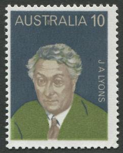 Decimal-Issues-1975-SG-591a-10c-Prime-Minister-Joseph-Lyons-MUH-BW-694c