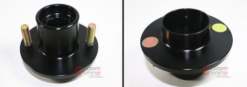 For 88-2000 Honda Civic Blk Suspension Coilover Shocks Strut Top Hat Mount X 4