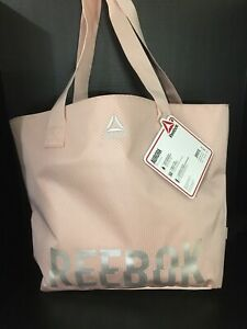 ff989628be0b Details about Reebok Aurora Tote Bag (Smoky Rose)
