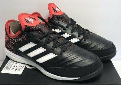 Adidas Mens Sz 8 Copa Tango 18.1 TR Turf Soccer Shoes Black Red White CM7668