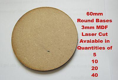 75x46mm Mdf Corte Laser Oval 2mm ou 3mm Wargames bases ou cartões de Artesanato Etc