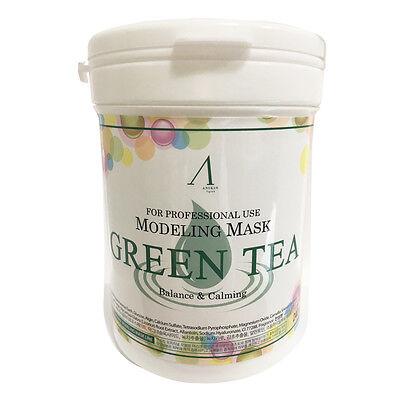 [ANSkin] Modeling Mask 240g #Green tea Free gifts