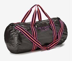 5808e30b1e Victoria Secret Noir Compressible Weekender Sac de Plage Grand Salle ...