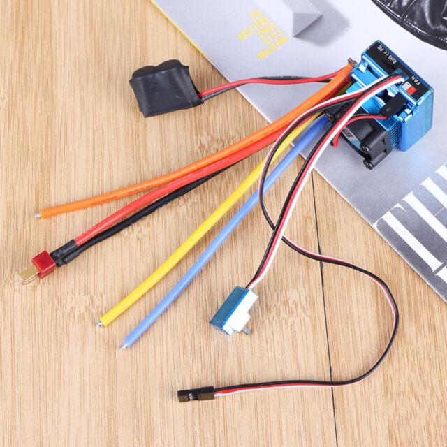 120A Brushless ESC Drehzahlregler Speed Controller for 1//10 1//8 RC Car ✪