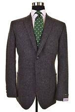 NWT Ermenegildo Zegna Silk Cashmere TWEED 3x PATCH POCKET Coat Jacket EU48 US 38