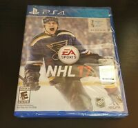 NHL 17 (Sony PlayStation 4, 2016) Video Games