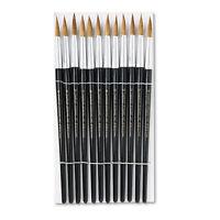 Charles Leonard Artist Brush Size 12 Camel Hair Round 12/pack 73512 on sale
