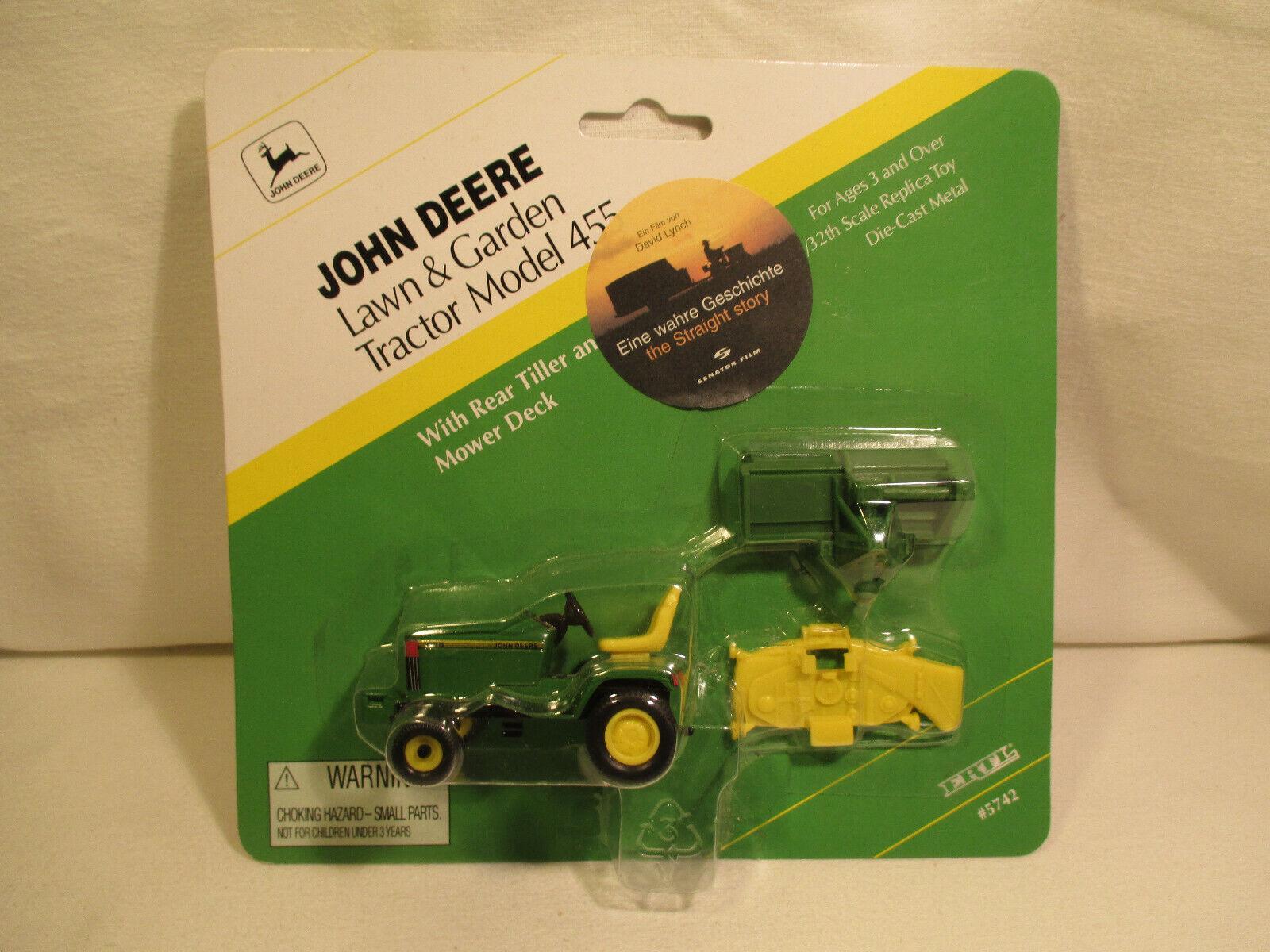 ERTL tracteur film publicitaire  Lawn & Garden  tractor 455 David Lynch voiture miniature  prix raisonnable