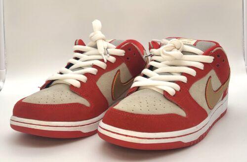 Nike SB Dunk Low Nasty Boys Cincinnati Reds Size 1