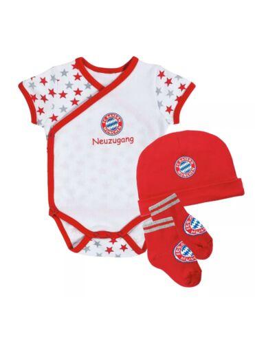 FC Bayern Munich Baby Set 3 Pieces Size 68 NEW
