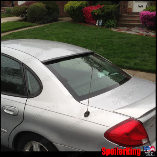 Rear Roof Spoiler Window Wing SpoilerKing 284R Fits: Ford Taurus 2000-07 4dr