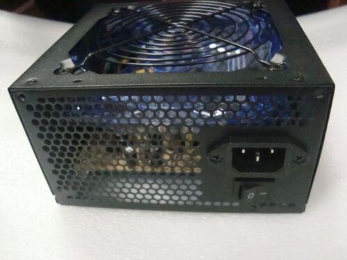 650W 650 Watt 600W ATX Large Quiet FAN Power Supply PSU PCIE SATA 450W 500W 550W