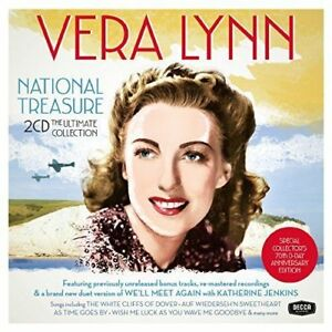 Vera-Lynn-National-Treasure-The-Ultimate-Collection-Nuovo-CD