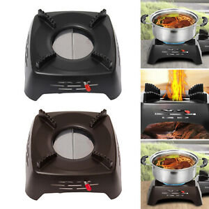 Compact Portable Camping Alcohol Stoves Wood Burning for Outdoors Cooking