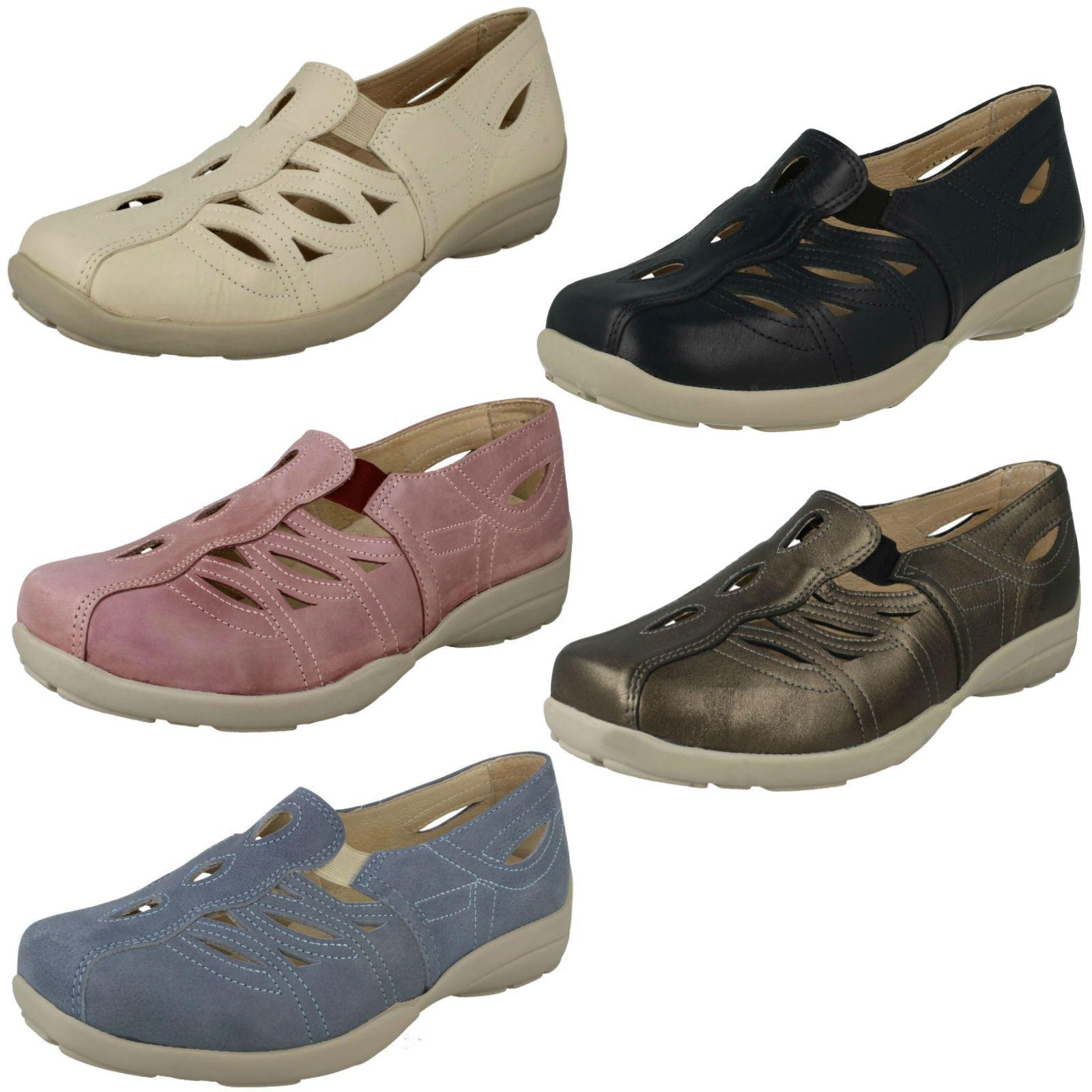 Ladies Easy B Slip On Casual shoes Fran