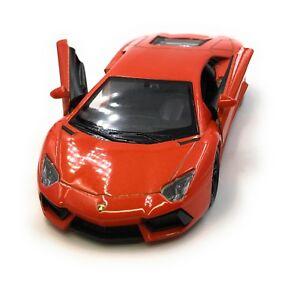 Voiture-miniature-Lamborghini-Aventador-Voiture-de-sport-rouge-voiture-1-34-39-LGPL