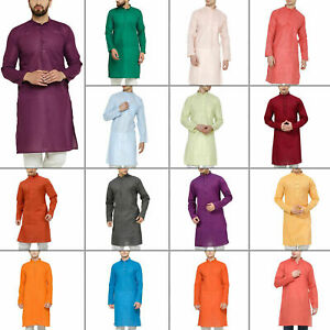 Cotton Ethinc Dress Kurta Pajama Set Men/'s Clothing Top Tunic Dress