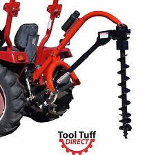 Tool Tuff Model 650 Cat 1 Post Hole Digger W Earth Auger Combos 6 12 Diameter