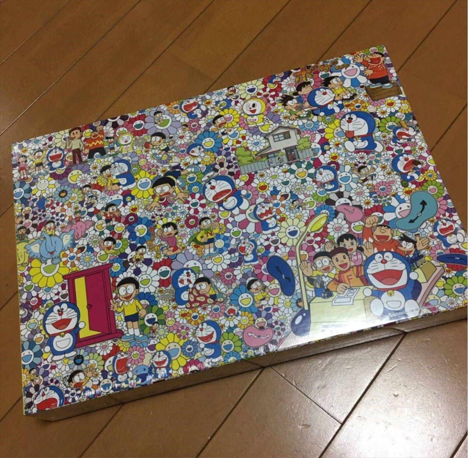 TAKASHI MURAKAMI jigsaw puzzle 1000 pieces The Doraemon Exhibition Tokyo 2017
